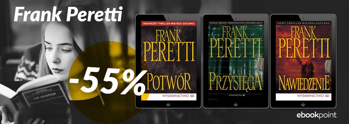 Promocja na ebooki FRANK PERETTI / -55%